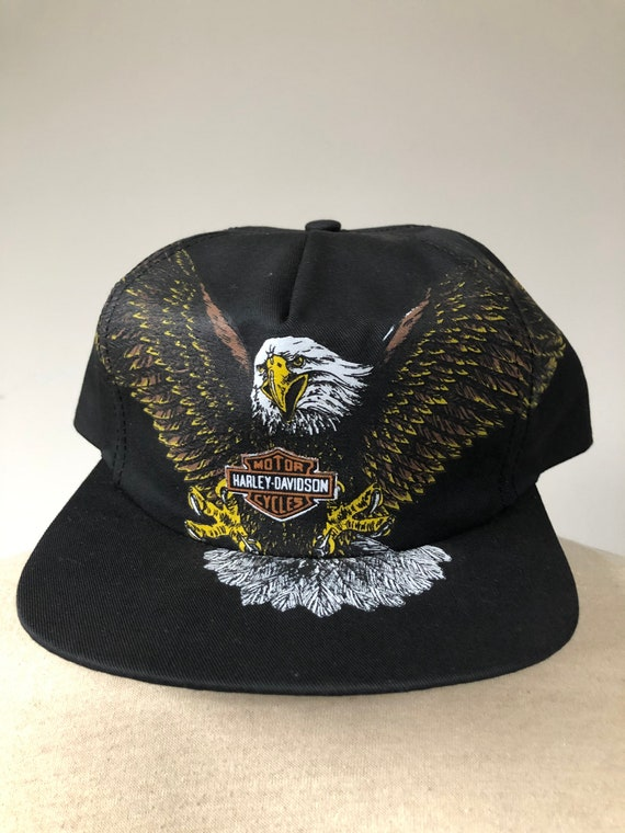 Deadstock Harley Davidson Screaming Eagle Snapback