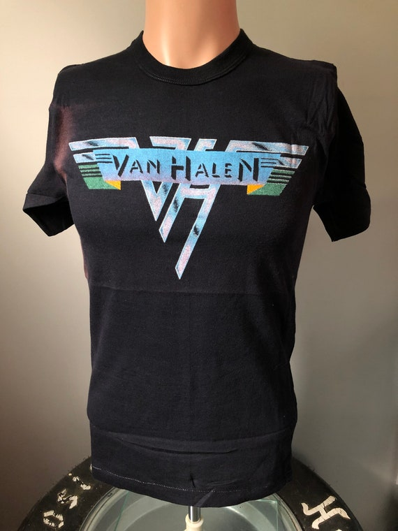 Original Van Halen Logo T-Shirt M 70's