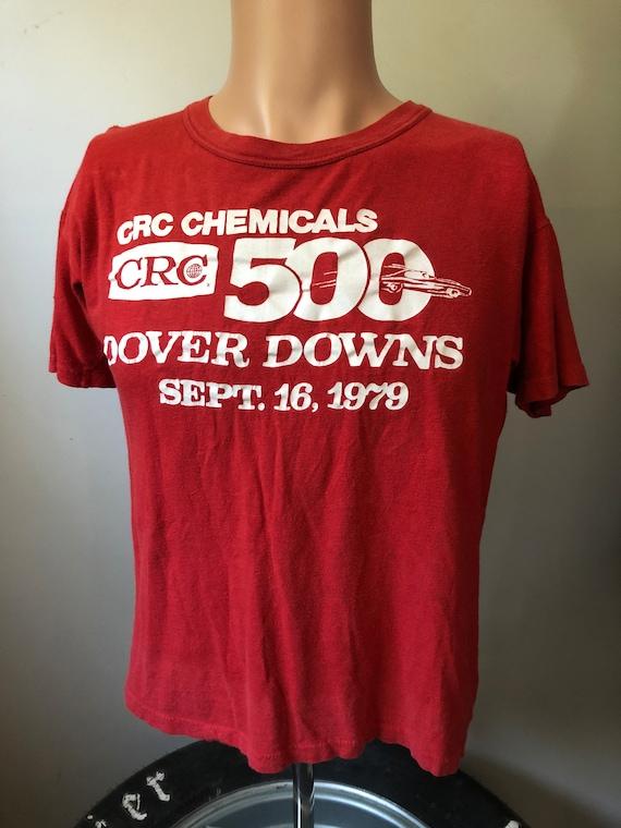 Vintage Dover 1979 CRC 500 T-Shirt L 70's