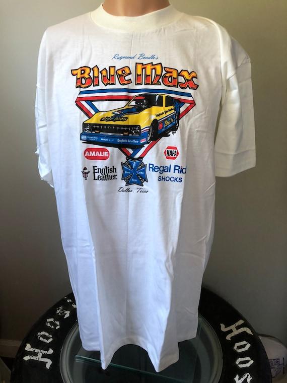 Deadstock Blue Max Funny Car T-Shirt XL 70's