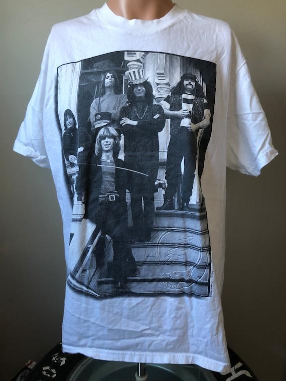 concert t shirt Grateful Dead authentic vintage black t, 1970/'s Deadhead