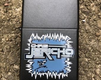 Deadstock Chris Jericho Zippo Lighter 2000 WWF
