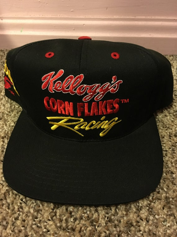Deadstock NASCAR Terry Labonte Kelloggs Racing Snapback Hat  be612c7d00c6