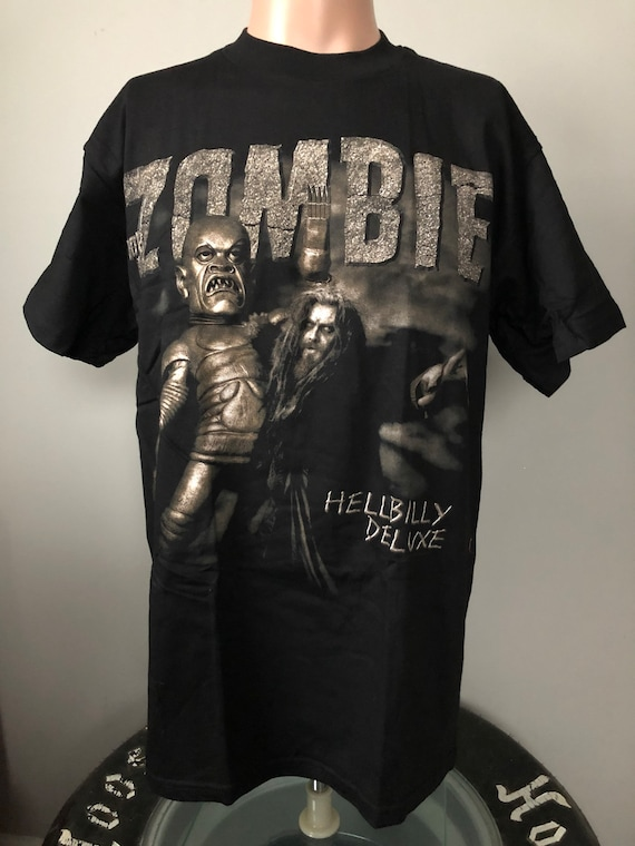 Deadstock Rob Zombie Hellbilly Deluxe Tour T-Shirt