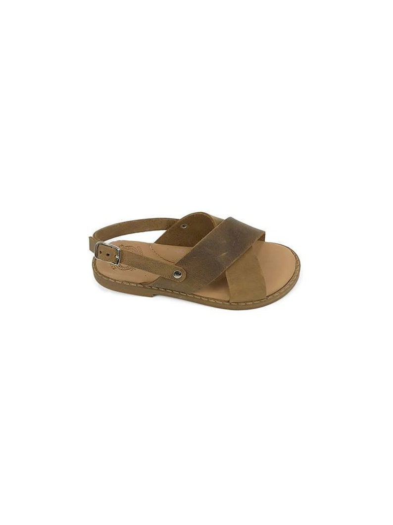 Greek Leather Kids Sandals