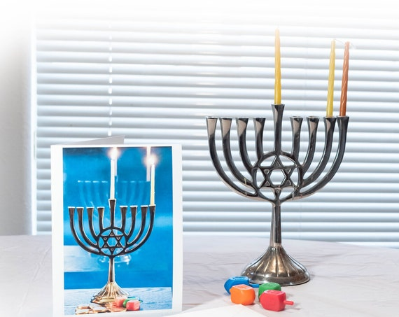 Hanukkah Card, Greeting Card, 5 x 7 card