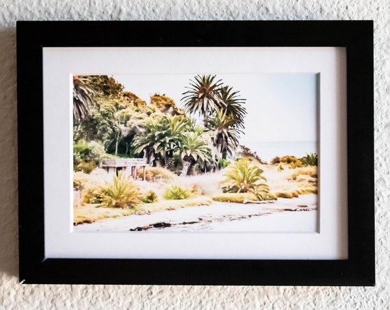 Malibu Lagoon, Color Photograph, Wall Decor, White Mat, Black Frame, 5 x 7 Photo, 8 x 10 Photo, 11 x 14 Photo