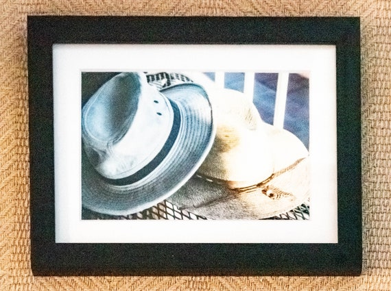 His and Hers , Color Photograph, Wall Art,  White Mat, Black Frame,  5 x 7 Photo, 11 x 14 Photo