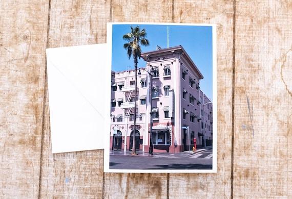 Hollywood Card, Greeting Card, Photo Card, Blank Card, 5 x 7 Card