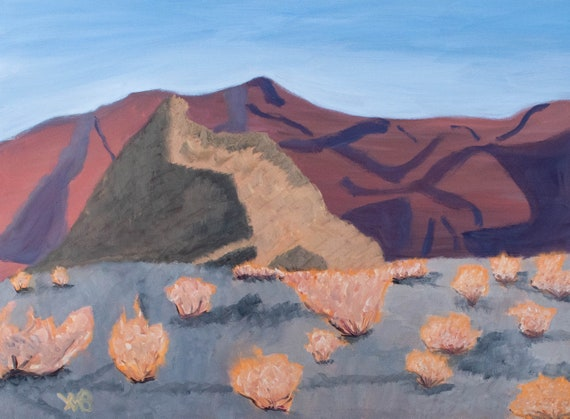 The Cove, Desert Landscape, Oil Painting, Original Painting, Wall Decor, 30 x 40 Painting