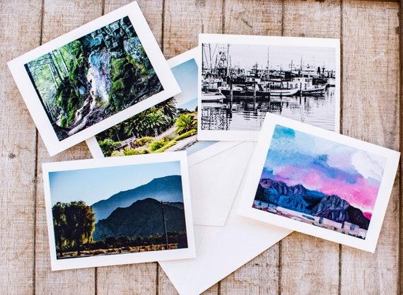 Custom Card Printing, Artwork, Photographs, Greeting Cards, 5.5 x 7.5 Cards, Premium Cardstock