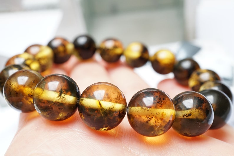 Unique Colour Of Amber Amber Jewellery 100/% Natural Baltic Amber Bracelet Gift Amber Beaded Bracelet Genuine Baltic Amber Bracelet