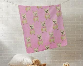 Custom Fleece Baby Blanket