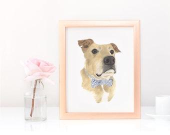 Custom Pet Painting (Bust Style)