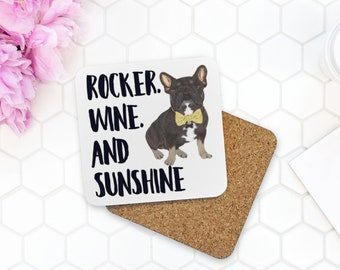 Custom Wine & Sunshine Coasters