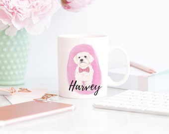 Personalized White Floof 15 oz. Mug