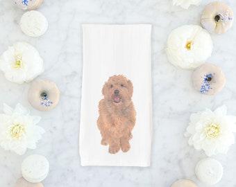 Golden Doodle Towel