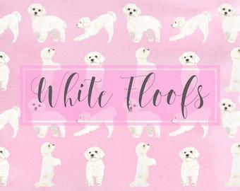 White Floof Prints