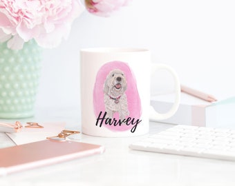 Custom 11 oz. Pet Portrait Mug