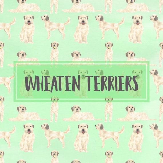 Wheaten Terrier Prints