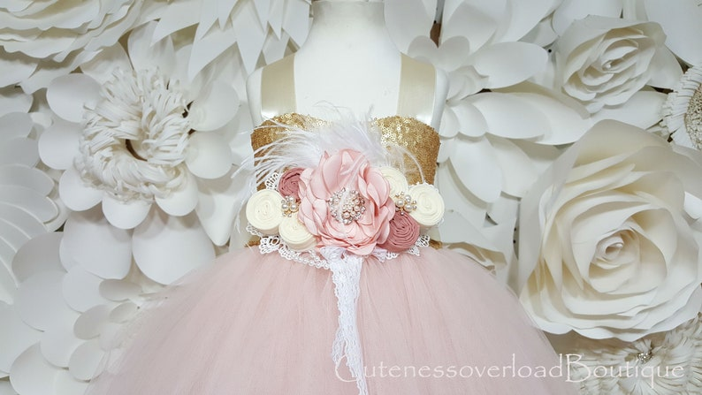 8b3e43684 Blush Flower Girl Tutu Dress-Blush Tutu Dress-Blush Bride Dress-Blush  Tutu-Blush Wedding Tutu Dress-Blush Birthday Tutu-Flower Girl Tutu