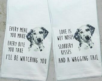 Dalmatian Towel Etsy