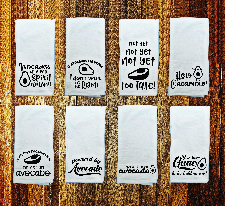 Avocado Kitchen Flour Sack Towel