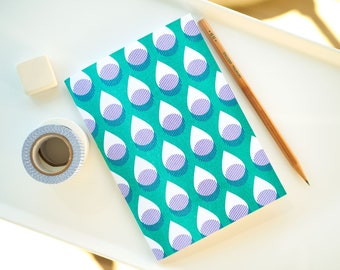 Lined Notebook Journal, Pocket Notebook, Travel Journal, Bullet Journal
