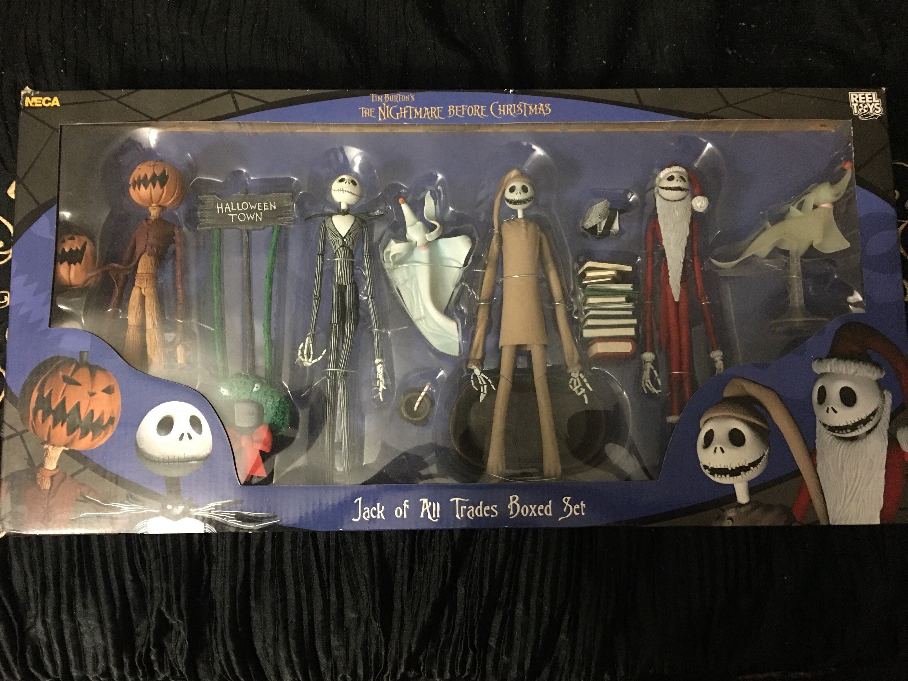 Nightmare Before Christmas Jack of all trades box aet | Etsy