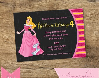 Joint Birthday Party Invitation Princess And Monster