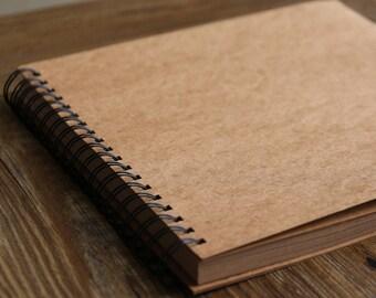 98 Pages Spiral Bound Blank Kraft Photo Album Ring Binder Photo album Scrapbook  Album Wedding Guest Book Wedding scrapbook Album  f79422cd9e