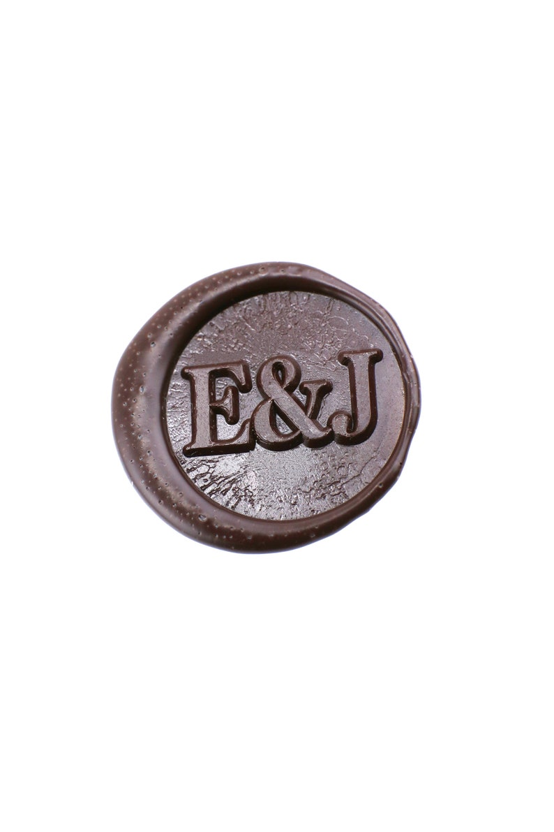 Personalized Initials Wax Seal Stamp Custom Monogram Wedding
