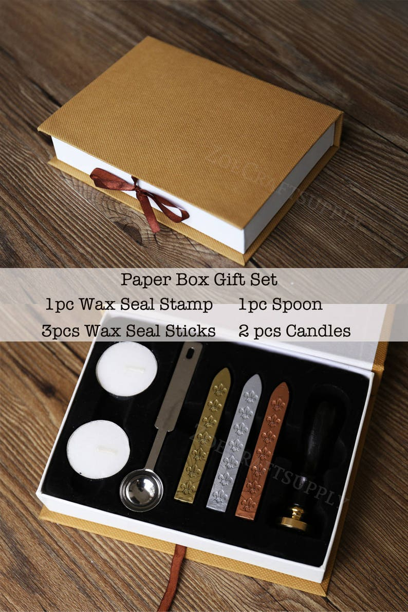 Phoenix  wax seal stampwax sealing kit Wax seal Gift Package Gift for himGift for herSS174