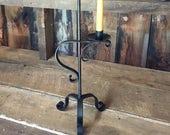 18th Century Adjustable single light Table Lamp