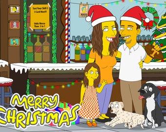 Personalized Christmas Gift, Gift For Christmas, Christmas Idea, Christmas Décor, Christmas Ornament, Merry Christmas