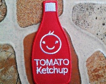Cute Red Tomato ketchup patch.