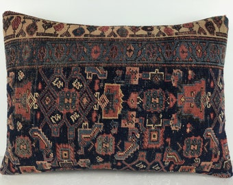 Antigue carpet pillow cover,home pattern rug pillow,turkish rug pillow,home pattern rug pillow,modern home pillow,kilim rug pillow ag-58