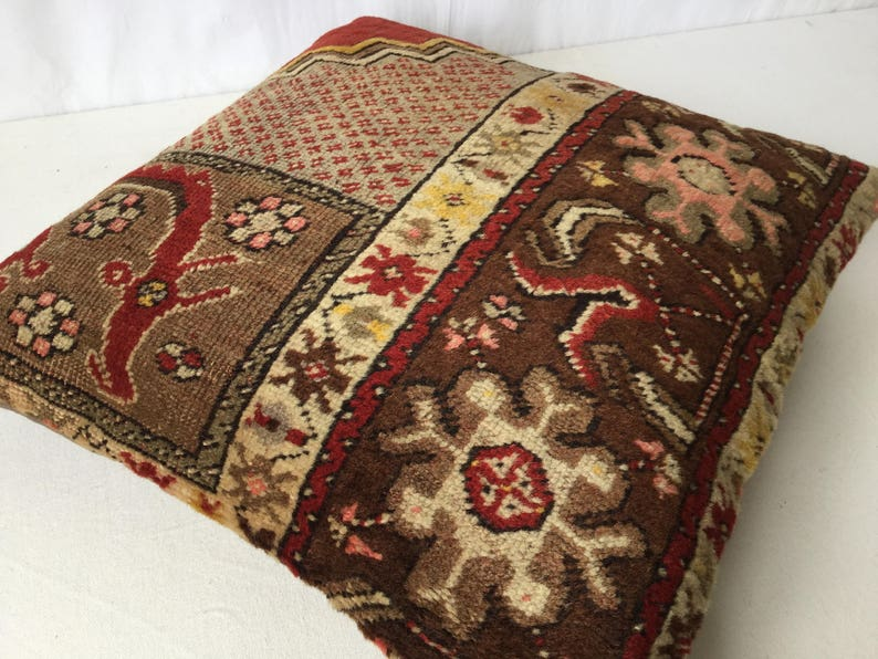 50x50 cm 20x20 inch,Oriental Pillow,Kilim Pillow,Carpet Pillow,Moroccon Pillow,Decorative Pillow,Ethnic Pillow,Antique Pillows,Rug Pillows