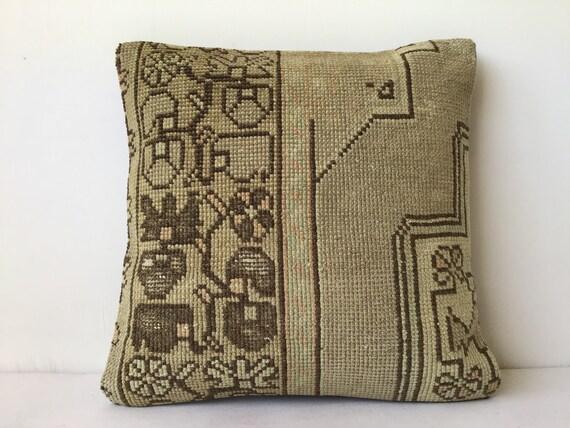 40x40 cm 16x16 inch,Throw Pillow,Kilim Pillow,Carpet Pillow,Moroccon Pillow,Decorative Pillow,Ethnic Pillow,Antique Pillows,Rug Pillows