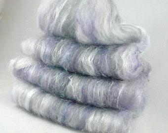 Art Batt Spinning Batt Carded Art Batt Spinning Fiber Spinning Wool Carded Batt Art Batt Fiber Spinning Supplies Carded Merino Wool Batt