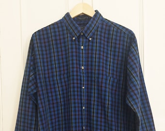 Vintage Primary Colour Check Shirt