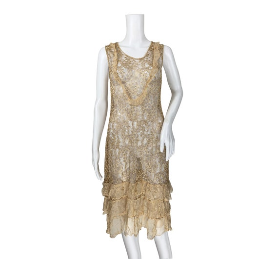 1920s Lace Dress - image 2