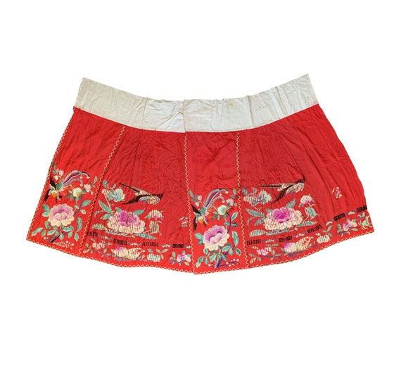 1920s Chinese Embroidered Skirt