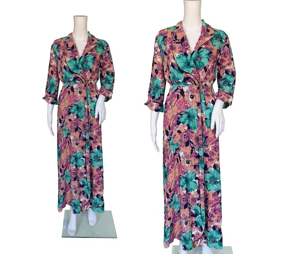 1930s Cotton Robe