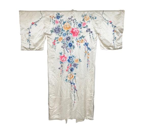 1950s Embroidered Kimono