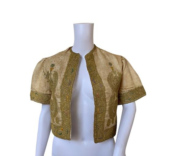 1930s Indian Bolero Jacket