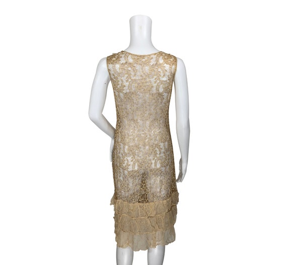 1920s Lace Dress - image 3