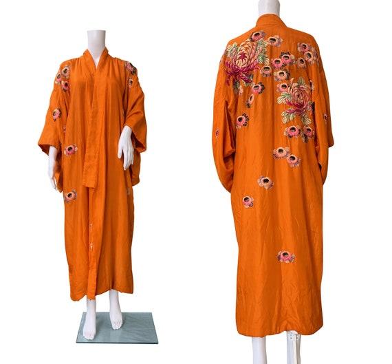 1930s Embroidered Kimono
