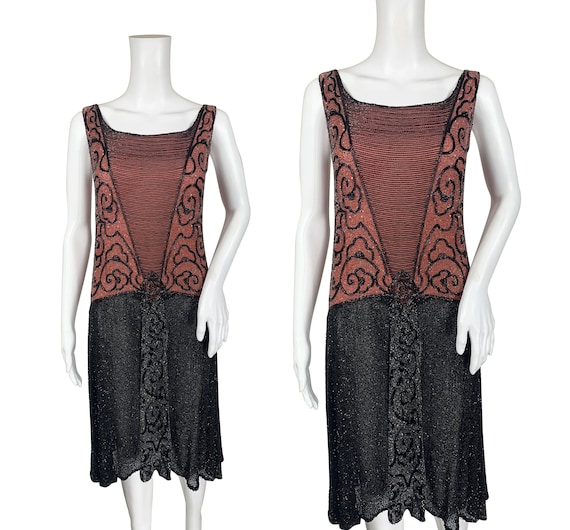 1920s Beaded Dress - Cotton Muslin