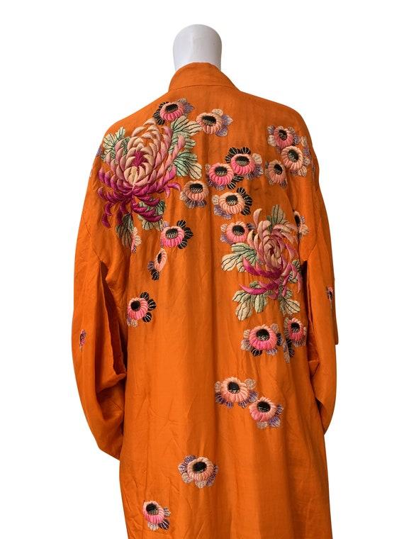 1930s Embroidered Kimono - image 2